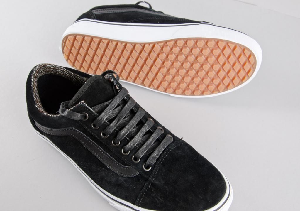 1b7e75527a62 Vans. Vans Old Skool (MTE)   Black Tweed