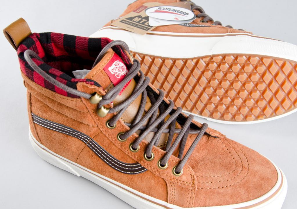 57cc388704 Vans. Vans Skate Hi MTE   Glazed Ginger 1