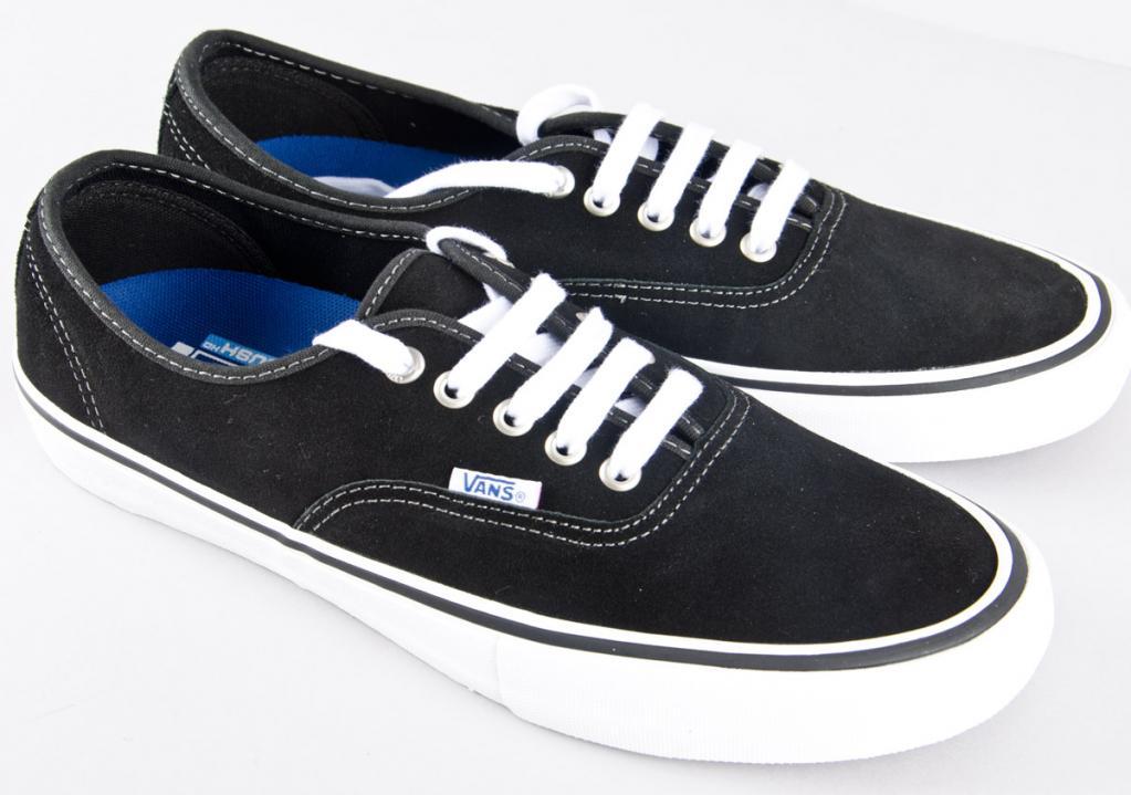 Vans. Authentic PRO suede  black bad834ff5