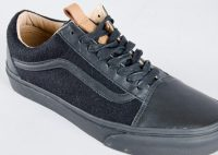 51e17d5da8 Vans. Vans Old Skool Reissue CA (leather wool)   black black