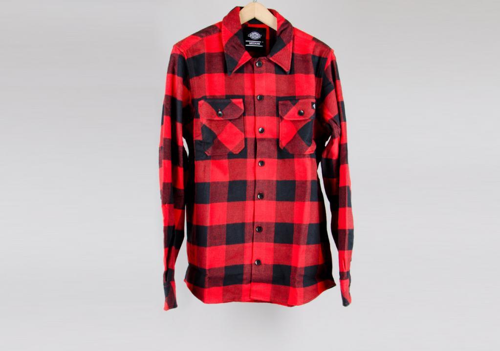 design innovativo e3b48 0e57f 'Sacramento' camicia flanella / rossa